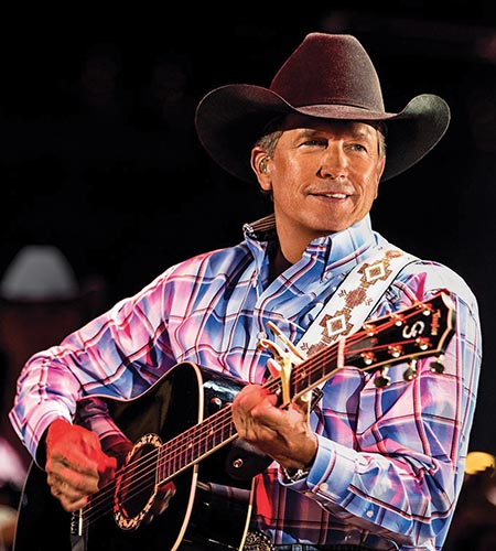 George Strait will be back on stage at Vegas