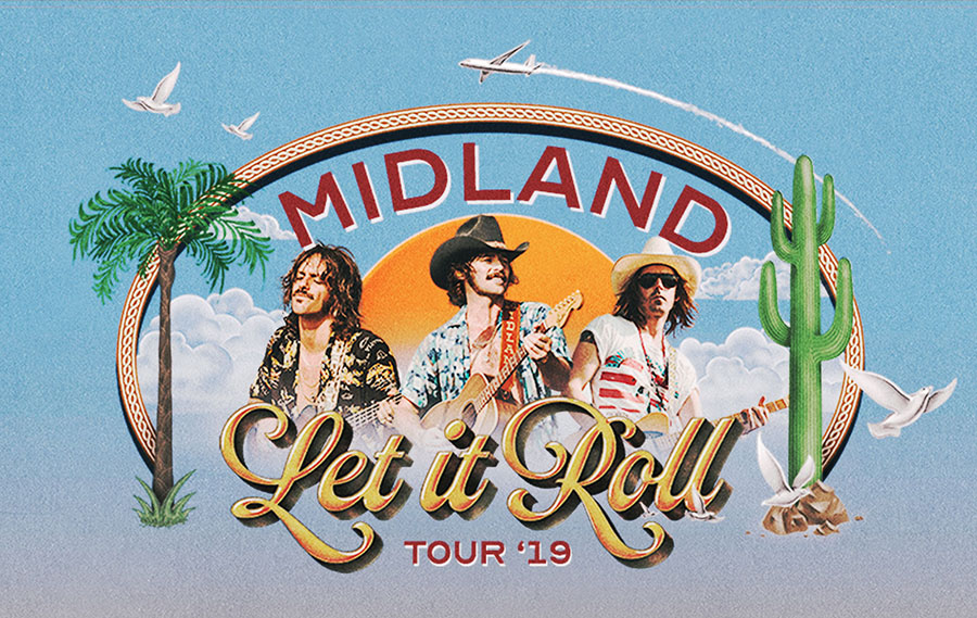 Midland European Let It Roll Tour